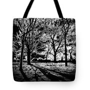 Super Contrasted Trees Tote Bag
