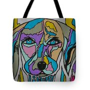 Super Hero - Contemporary Dog Art Tote Bag