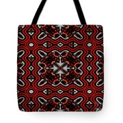 Super Highways Abstract Tote Bag