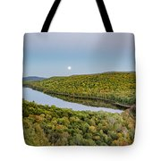 Super Moon Rise Sept. 27, 2015 Tote Bag