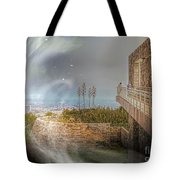 Super Natural Aliens Are Coming Getty Museum  Tote Bag