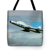 Super Sabre North American F-100  Tote Bag