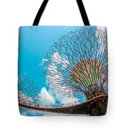 Super Tree Grove- Gardens By The Bay Tote Bag