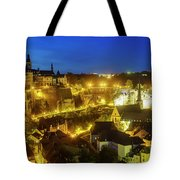 Superb Aerial View From Cite Judiciaire Tote Bag