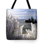 Superior Ice Formations Tote Bag