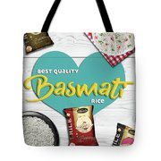 Superior Quality Basmati Rice Importers In New Zealand - Kashish Food Tote Bag