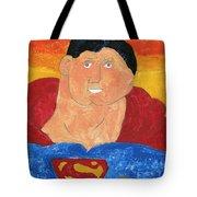 Superman Tote Bag by Don Larison