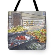 Supermarket Produce Section Tote Bag