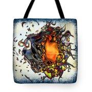 Supernova In Harlequin Tote Bag