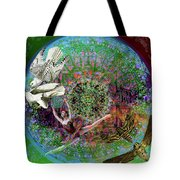 Superstar Electromagnetic Starchild Tote Bag by Joseph Mosley