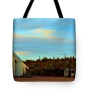 Superstition Mountain Park Church Tote Bag