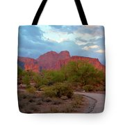 Superstition Mountains Arizona Tote Bag