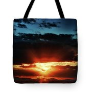 Superstition Sunrise Tote Bag