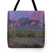 Superstition Sunset Tote Bag