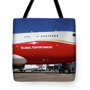 Supertanker At Colorado Springs Tote Bag