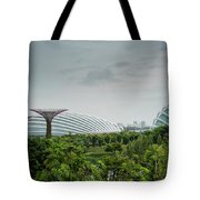 Supertrees At Gardens By The Bay Tote Bag