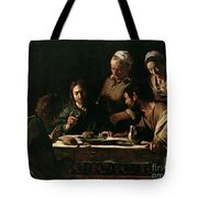 Supper At Emmaus Tote Bag