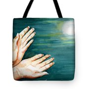 Supplication Tote Bag