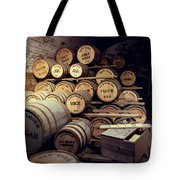 Supplies And Rations Tote Bag