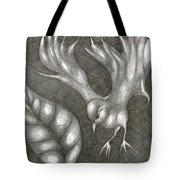 Supposedly Bird  Tote Bag