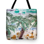 Surf And Palms Tote Bag
