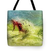Surf Art Tote Bag