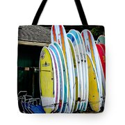 Surf Lessons Tote Bag