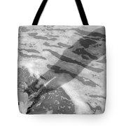 Surf Shadows Tote Bag