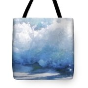 Surf Splashes Tote Bag