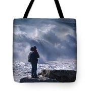 Surf Watcher Tote Bag