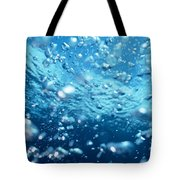 Surface Bubbles Tote Bag