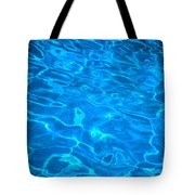 Surface Ripples Tote Bag