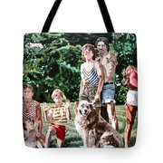 Surface Tension Tote Bag