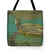 Surfacing Seaturtle Tote Bag