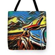 Surfari Time Tote Bag
