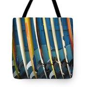 Surfboards Tote Bag by Dana Edmunds - Printscapes