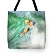 Surfer 46 Tote Bag
