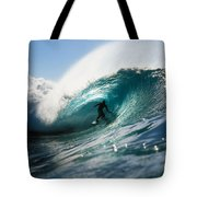 Surfer At Pipeline Tote Bag by Vince Cavataio - Printscapes