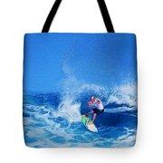Surfer Charles Martin Tote Bag
