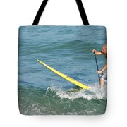 Surfer Dude Tote Bag