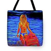 Surfer Girl 13218 Tote Bag