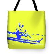 Surfer Girl 1940s Tote Bag