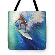 Surfer II Tote Bag