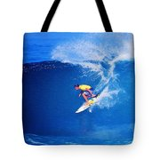 Surfer Mitch Crews Tote Bag