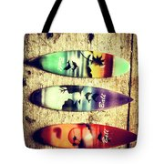 Surfers Parade Tote Bag