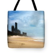 Surfers Paradise On A Stormy Day Tote Bag