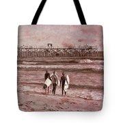 Surfers Three Tote Bag