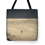 Surfing At Leo Carrillo Beach Tote Bag