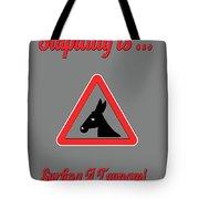 Surfing Bigstock  Donkey 171252860 Tote Bag