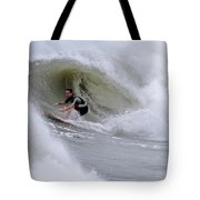 Surfing Bogue Banks 1 Tote Bag